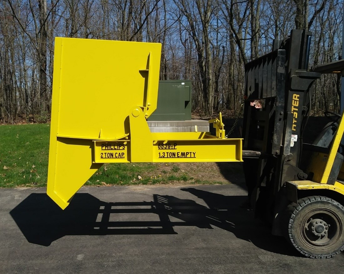 1.75 Cubic Yard Self Dumping Hopper