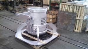 3/4 Cubic yard scrape charging bucket