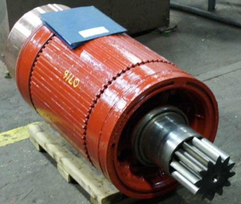 DC Traction Motor Armature