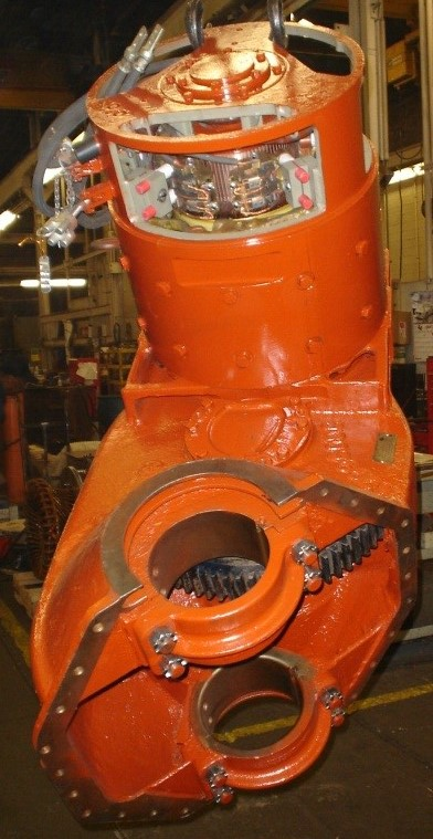 GE 763 Motor and Gear Box