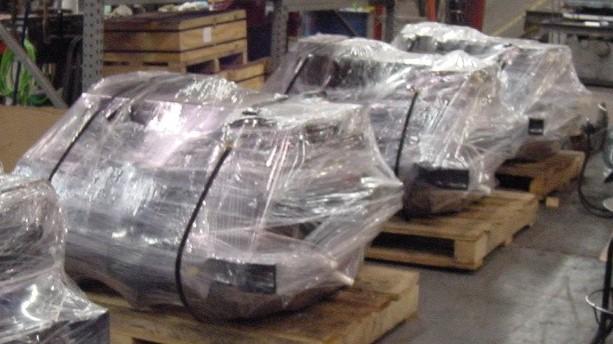Shipping Traction Motors