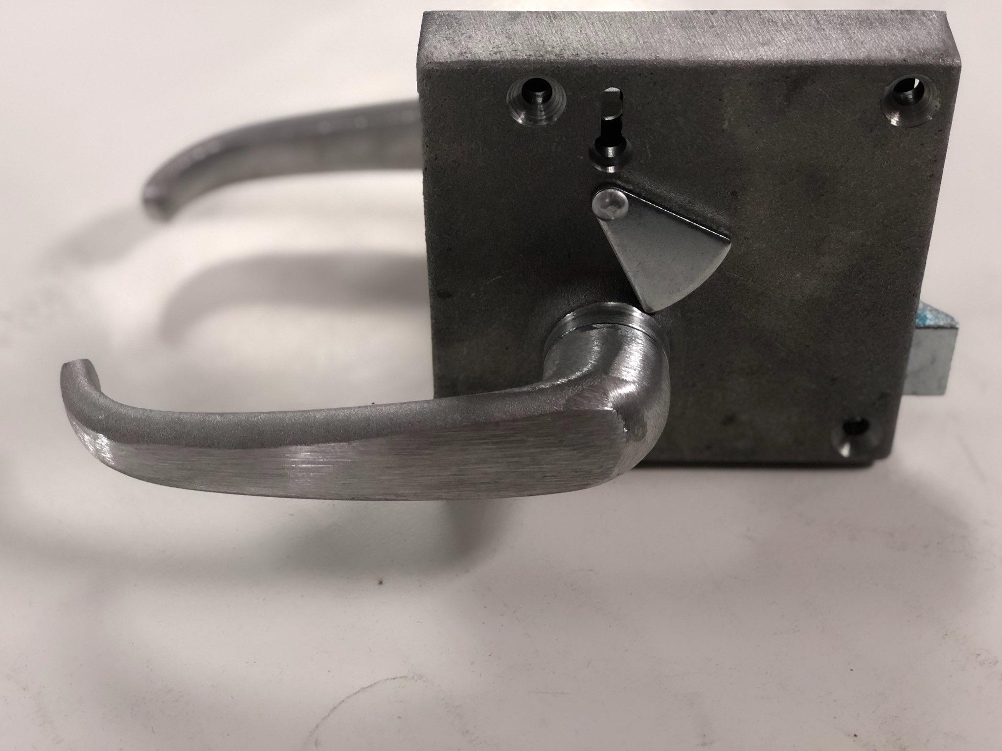 41B512588P9 Rim Lock GE Switcher