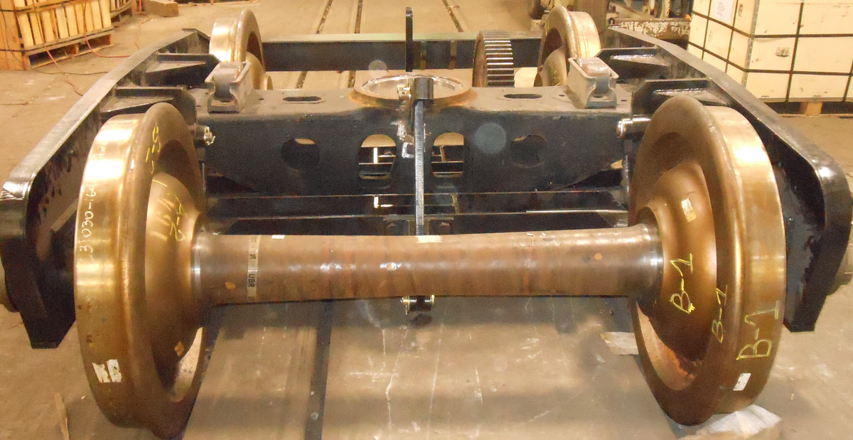Fabricated Plate Truck Assembly