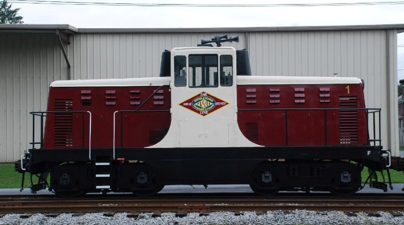 GE and EMD Stock and Distributed Parts