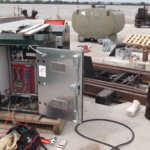 15 Paulsboro Electric Track Switch, T-3 Site Install with temporary Control