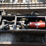 4 San Francisco Electric Track Switch, T-3 Site Install 2