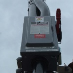 Non Fused 600 VDC Disconnect 3 Pole