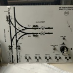 Track Switch Control Minic Panel for Local Control