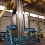 Irwin 400 Ton Pressure Vessel Transfer Car