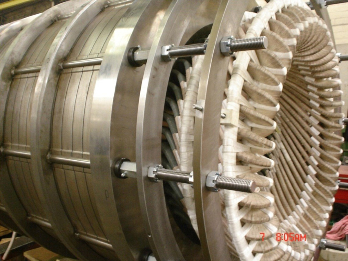 Motor Core and Wound Stator