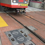 San Fran Locking T-3 with Streetcar Closeup
