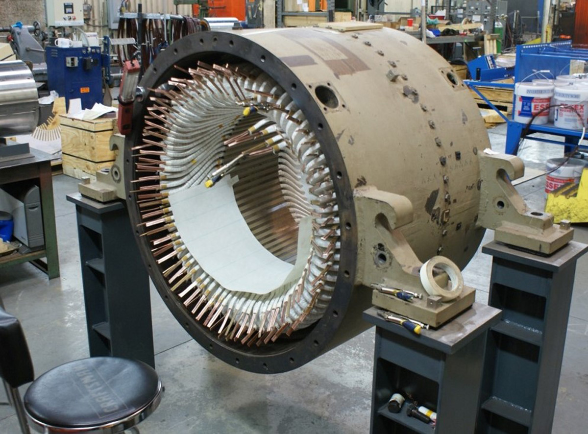 Wound Stator Assembly