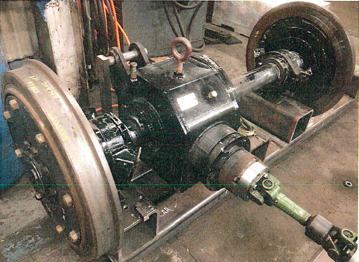 Gearbox and Wheel Set Testing