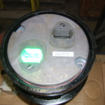 Embedded Switch Point Indication Flush Light Head Green 3