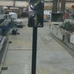 Pole Mount Switch Point Indication Light, 3 Light LED 1