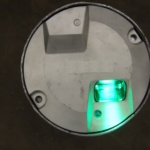 Embedded Switch Point Indication Light Head Green 4