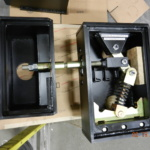 Rail Box for Cleanout, Rod Clearance